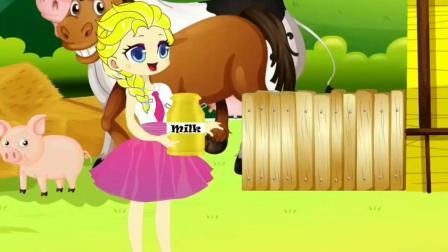 紫悦制作彩色蛋糕 认识颜色 小马国女孩游戏