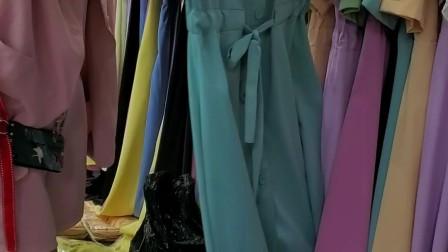 时尚女装批发货源服装批发一手工厂货源V:18667918831,新款爆款女装夏款糖果色连衣裙走份30件一份💰799元