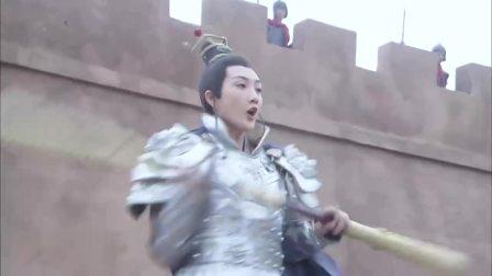 隋唐英雄:大唐先锋官薛葵,对战邱,意外被打伤