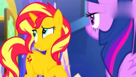 小马宝莉:同时出现了两个紫悦公主,这是怎么回事,好恐怖呀