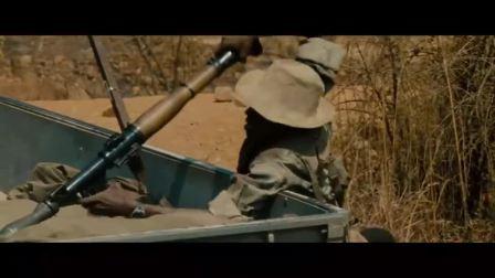解救黑人娃娃兵,拿着AK47扛着RPG火箭弹!重机枪扫射