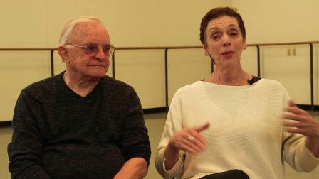 访谈-关于巴兰钦 Gloria Govrin和Robert Barnett谈Stars and Stripes