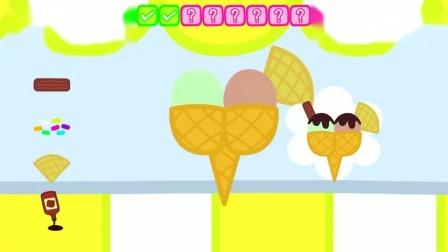 小猪做了个冰淇淋,佩佩会爱这个冰淇淋吗?小猪佩奇游戏
