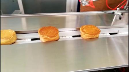 食品枕式包装机适合饼干、蛋黄酥、面包等