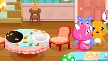 哪种口味的冰淇淋球最好吃呢?宝宝巴士游戏