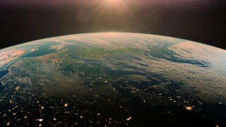 飞行员驾战机赶超地球自转飞行观落日重升赏天际美景