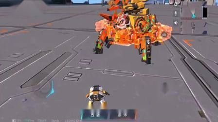 """重装上阵:铲车也""""疯狂""""速度不输跑车,机器人穿上了碎花裙!游戏解说"""