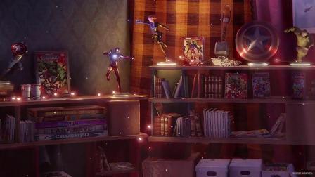 【游民星空】《漫威复联》惊奇女士房间
