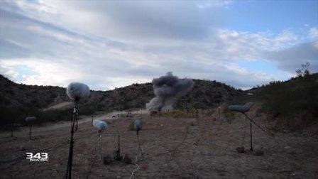 【游民星空】《光环:无限》使用TNT炸药进行声音录制