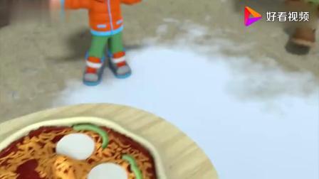汪汪队立大功:披萨派对我觉得披萨需要加腊肠片
