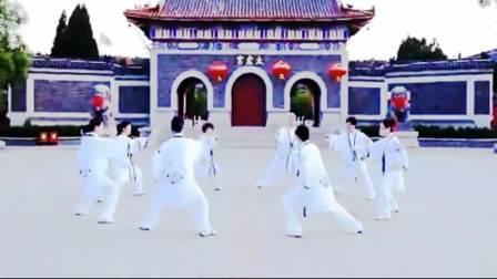 42式太极拳花样表演 太极音乐人间仙境