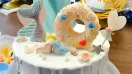超快手水果蛋糕 艾素糖艺装饰生日蛋糕课程学习