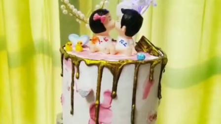 淋面蛋糕转印技术教学现场 甘纳许淋面蛋糕咨询