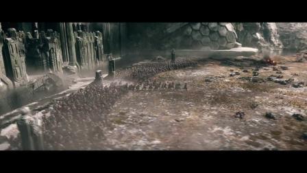 霍比特人燃爆心灵的五军之战,高傲的精灵不允许自己躲在矮人身后