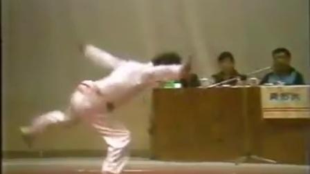 1987年李建立老师醉剑表演