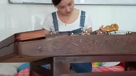 陸志娟学尤克里里c调杨柳青