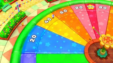 超级马里奥派对:迷你闯迷宫打怪兽小游戏