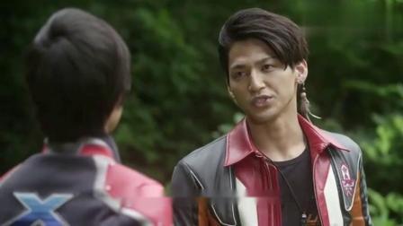 奥特曼:艾克斯的战斗不像样,翔看到很生气,决定要训练大地