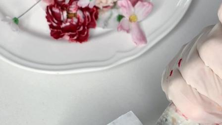 唯美韩式裱花蛋糕珠海明珠烘焙