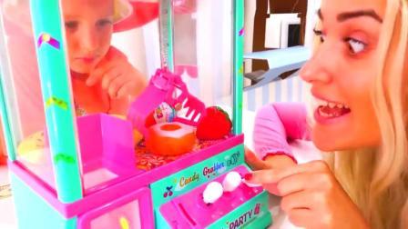 萌娃小可爱真是有经济头脑呢!—萌娃:恭喜你得到了一个大大的甜甜圈!
