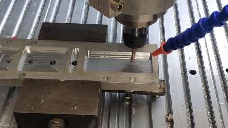 自制DIY型材雕刻机cnc铣铝