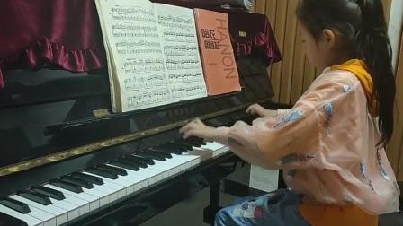车尔尼599练习曲,石梦圆小朋友演奏。宁夏吴忠张弛钢琴教室