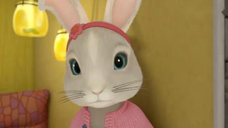 《比得兔》萤火虫小夜灯?大半夜比得莉莉一起抓萤火虫啦!
