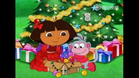 《爱冒险的朵拉第八季》圣诞爷爷开始讲故事,在圣诞夜帮助朋友