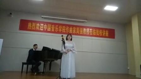 长沙八音艺术高考培训学校罗吉卿老师学生音乐会歌剧选段你们可知道