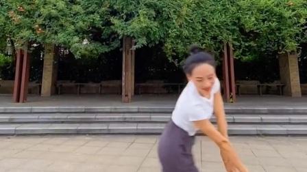 """舞蹈""""我的九寨""""后半段~夏辉老师"""