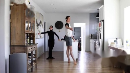 Ballet West:Kitchen Barre...Principal Artists Beckanne Sisk and Chase O'Connell
