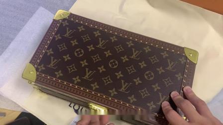 首饰盒 LV手表收纳盒 8格大容量 高档奢华