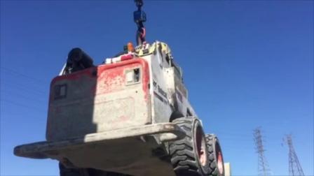 起重具有独特吊点的推铲车 | 智能吊装解决方 | elebia