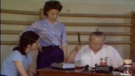 张君秋大师1982年在中国戏曲学院给学生们授课,其中给亲传弟子张晓虹指导《祭塔》
