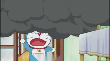 哆啦A梦:大雄你还和妈妈换身体呢,什么家务都不会全靠哆啦A梦