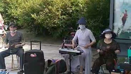 黑天鹅老年艺术团中西乐合奏《喜洋洋》