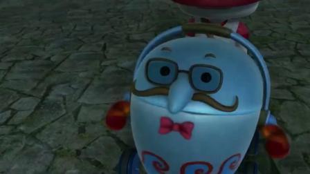 猪猪侠:搞笑玫瑰王子把电饭煲机械人改造成马桶还要放到公厕