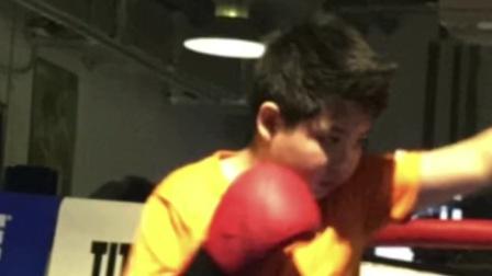 少年拳击组合拳打手靶MARK BOXING北京拳击刘教练