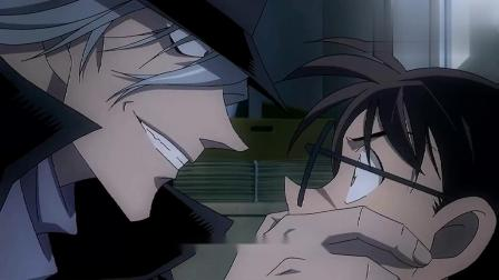 名侦探柯南:柯南关上门神秘人抓住柯南,居然还知道柯南真实身份!