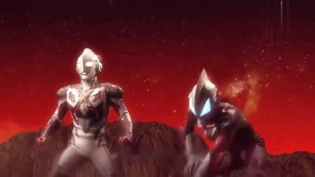 奥特曼:艾克斯和基德奥特曼连站起来的力气都没有了,榨干全部力量射激光