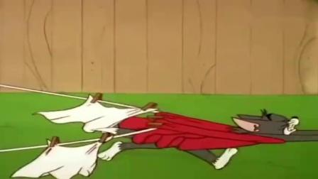 《猫和老鼠》汤姆把沙皮狗的飞机弄烂了!.mp4