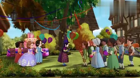 小公主苏菲亚:有魔法的生日宴太强了,装饰超华丽,蛋糕也没问题!