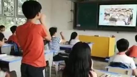 2020.5.22.南雄市社区医院派良红,同学生讲健康课。