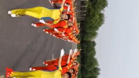 中国梦之队快乐之舞健身操第十七套第八节体侧运动