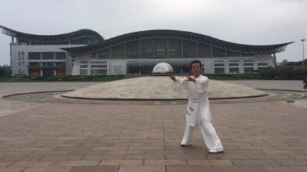 传统杨氏太极拳培训学校苏河弟子陈秀娟28式太极拳
