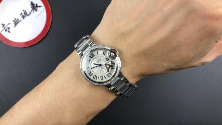 V6蓝气球33女士单排钻手表 V7版 自动机械腕表