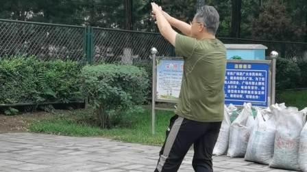 《陈式混元24式太极拳》背面全套演练
