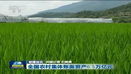 全国农村集体账面资产6.5万亿元 央视新闻联播 20200712