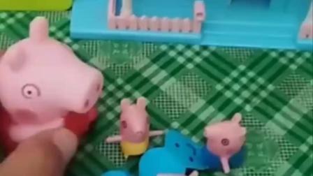 猪妈妈想要去上班,佩奇乔治还都想要猪妈妈陪着,不要猪爸爸吗?