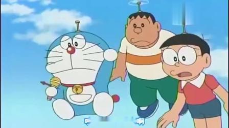 哆啦A梦:胖虎一出马,持夫果然听话地去了公园,笑死了!